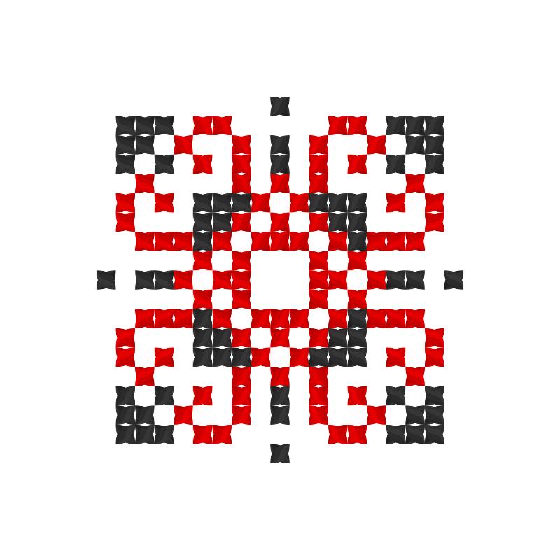 Текстовий слов'янський орнамент: Дарія