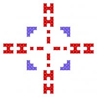 Текстовый украинский орнамент: Инна