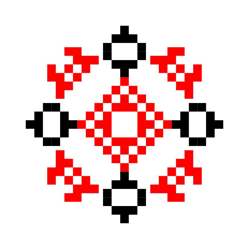 Текстовий слов'янський орнамент: Даша