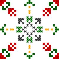 Текстовый украинский орнамент: Св. Анастасія