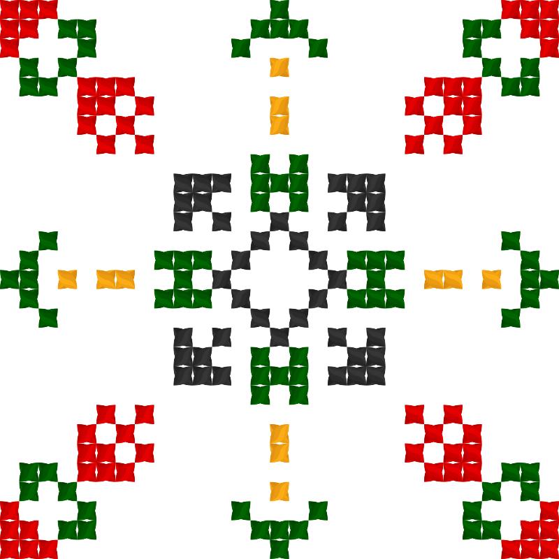 Текстовий слов'янський орнамент: Св. Анастасія
