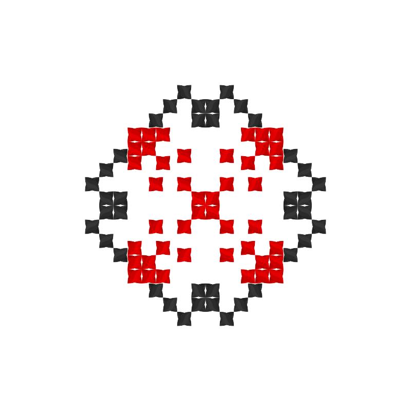 Текстовий слов'янський орнамент: Ілля