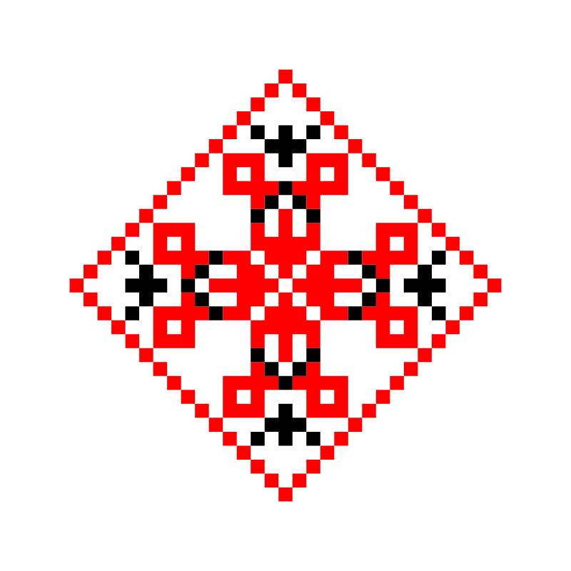 Текстовий слов'янський орнамент: Илья
