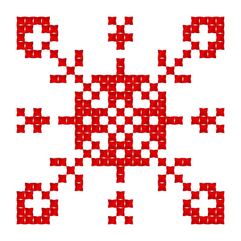 Текстовий слов'янський орнамент: Софієчка