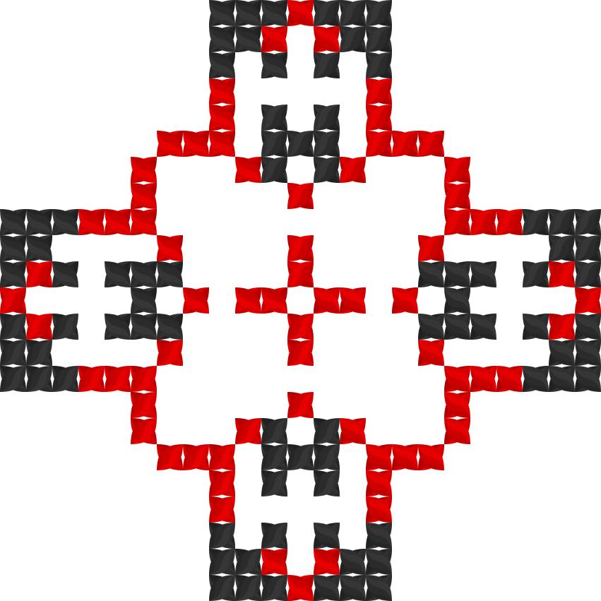 Текстовий слов'янський орнамент: Iнуся