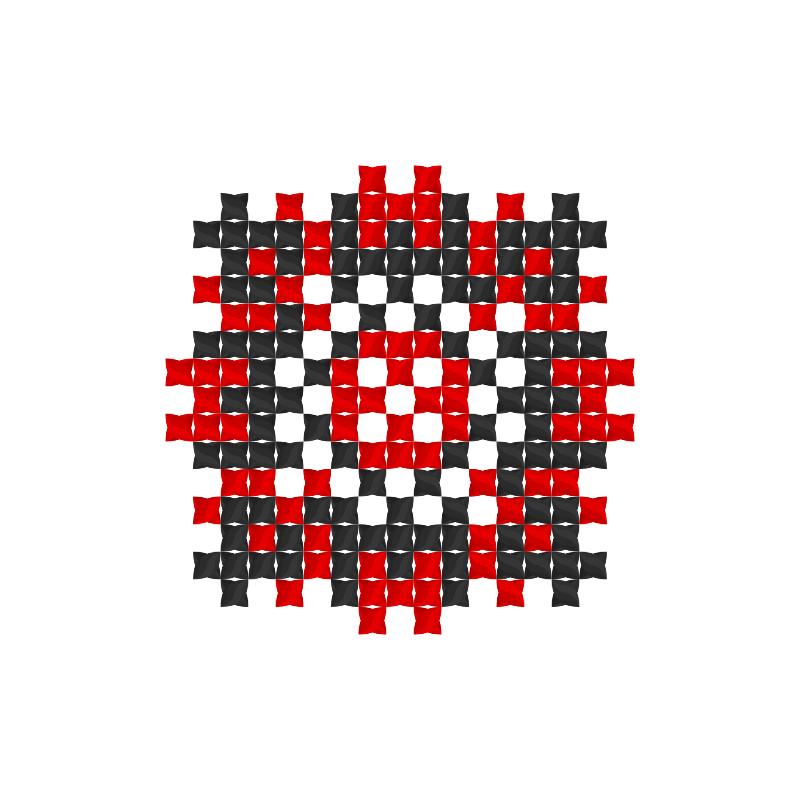 Текстовий слов'янський орнамент: терещенки
