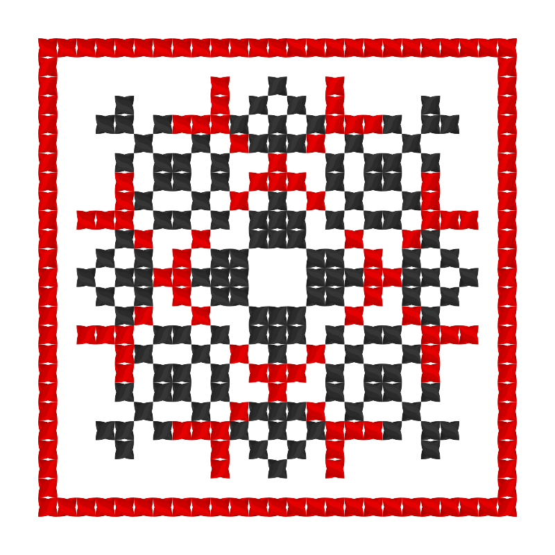 Текстовий слов'янський орнамент: Гайдук