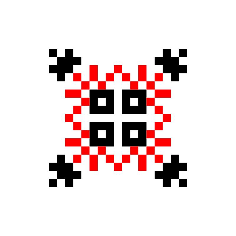 Текстовий слов'янський орнамент: олег