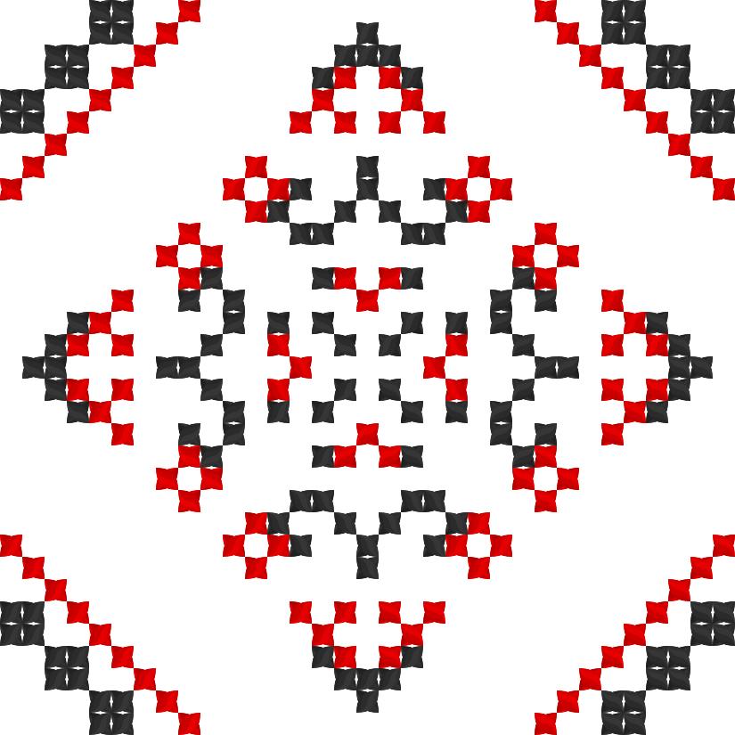 Текстовий слов'янський орнамент: Субота