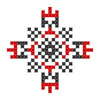 Текстовый украинский орнамент: артем