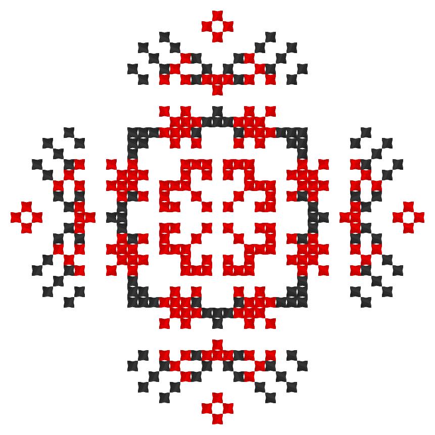 Текстовий слов'янський орнамент: багатство