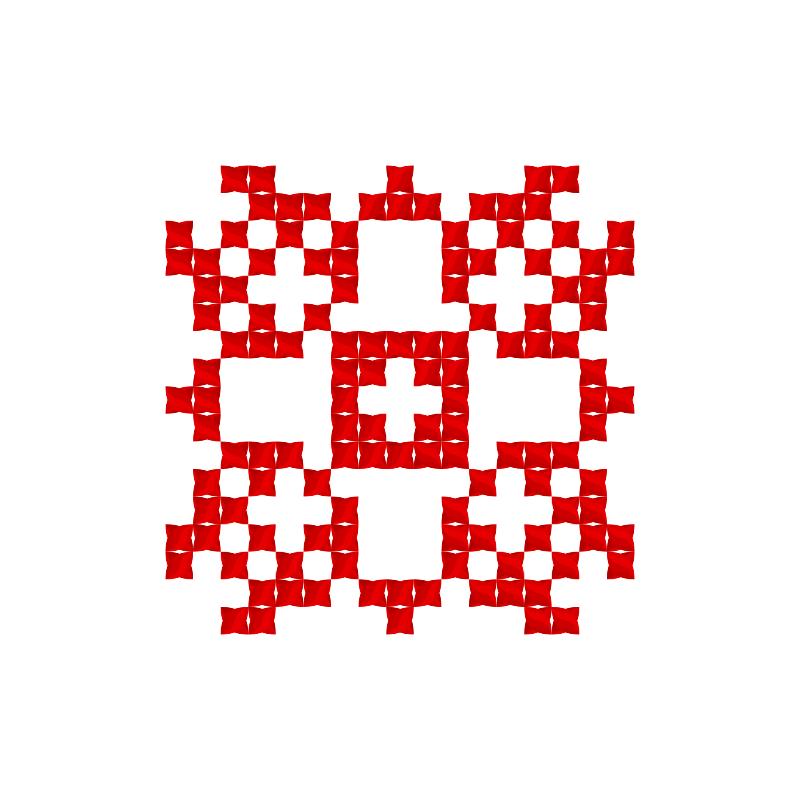 Текстовий слов'янський орнамент: саша