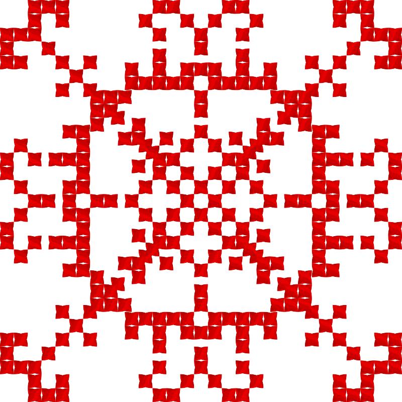 Текстовий слов'янський орнамент: бібліотека