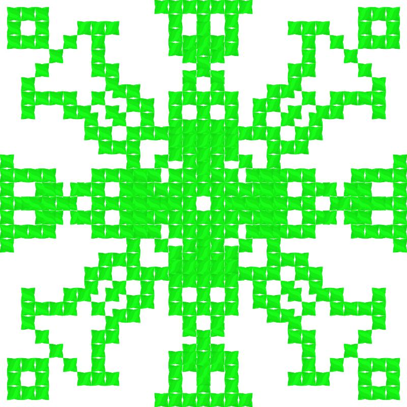 Текстовий слов'янський орнамент: Дивовижний орнамент