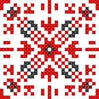Текстовый украинский орнамент: Литвиненко
