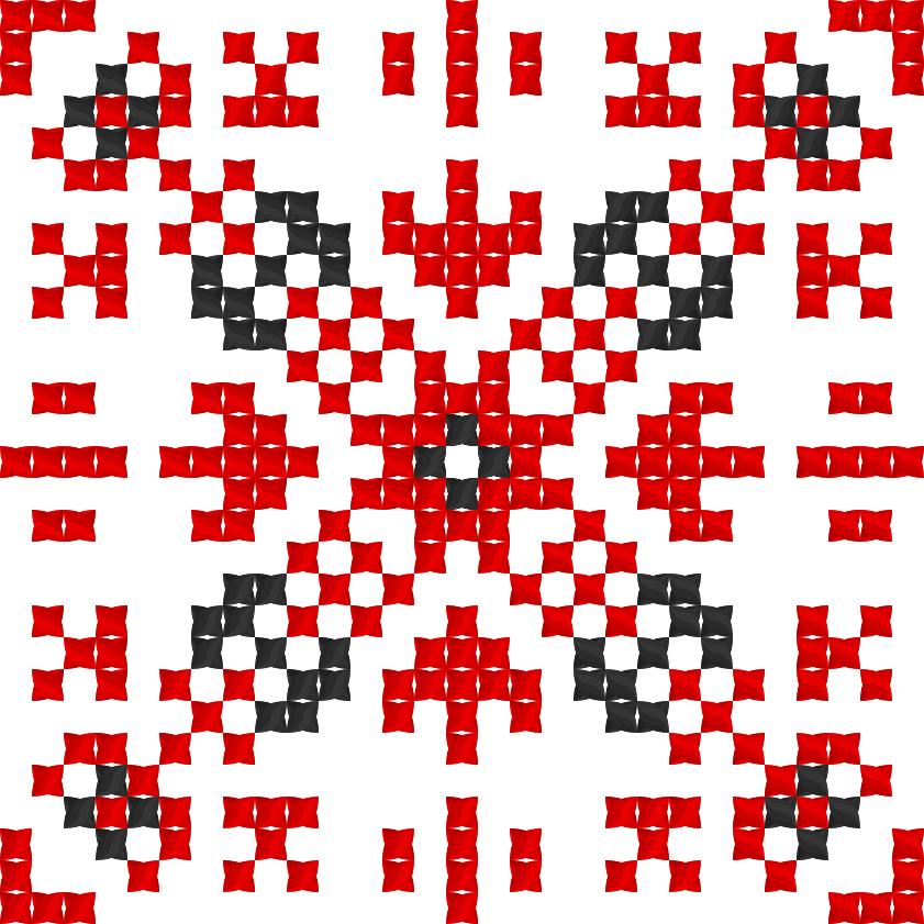 Текстовий слов'янський орнамент: Литвиненко