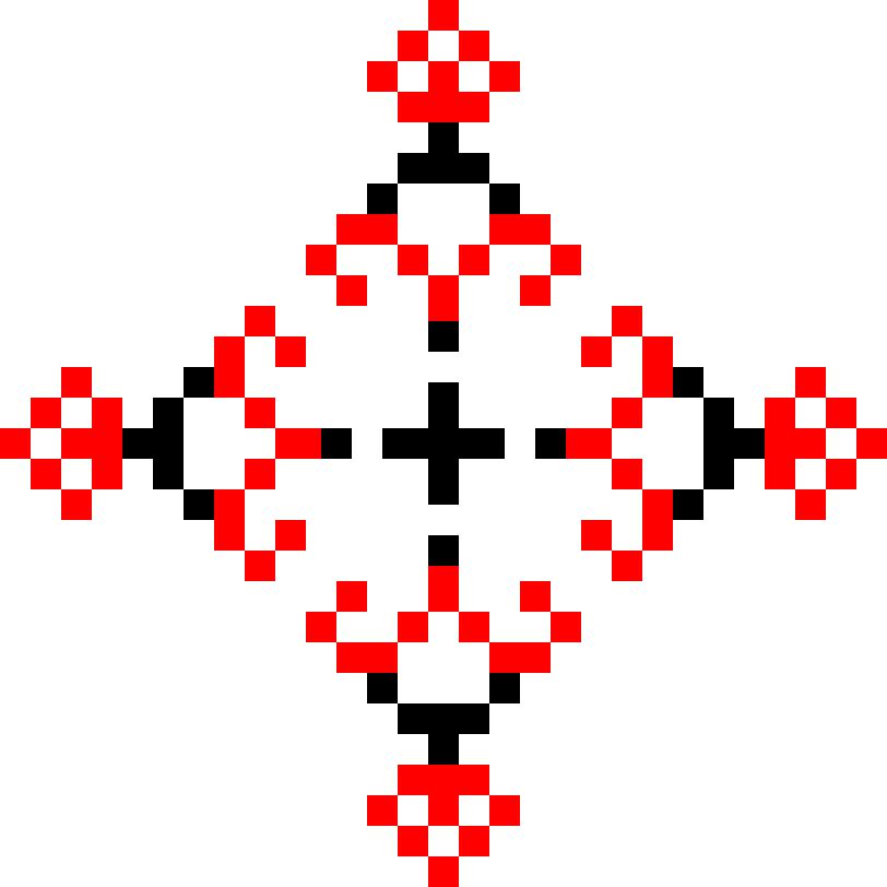 Текстовий слов'янський орнамент: ДАБІ