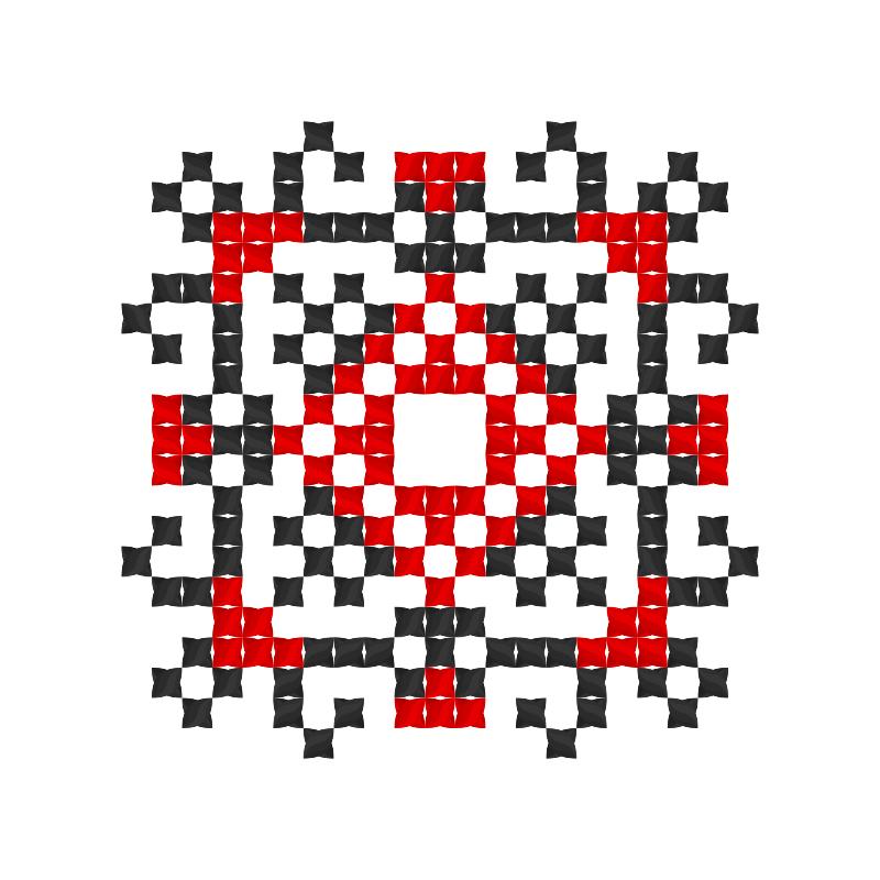 Текстовий слов'янський орнамент: Dekator