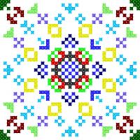 Текстовый украинский орнамент: Кохання