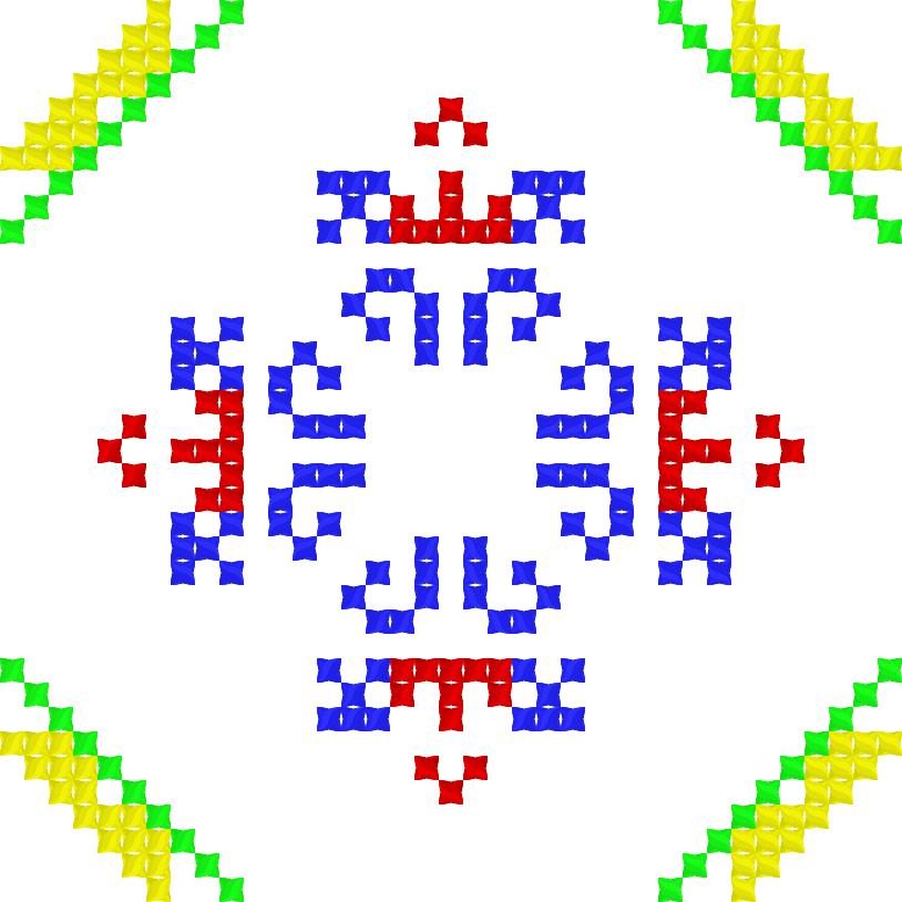 Текстовий слов'янський орнамент: Рекс