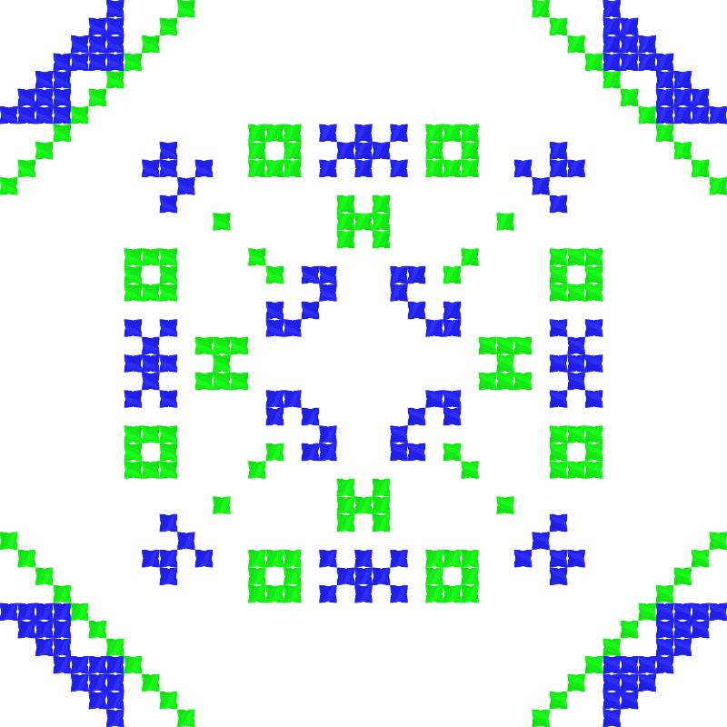 Текстовий слов'янський орнамент: Сніжок