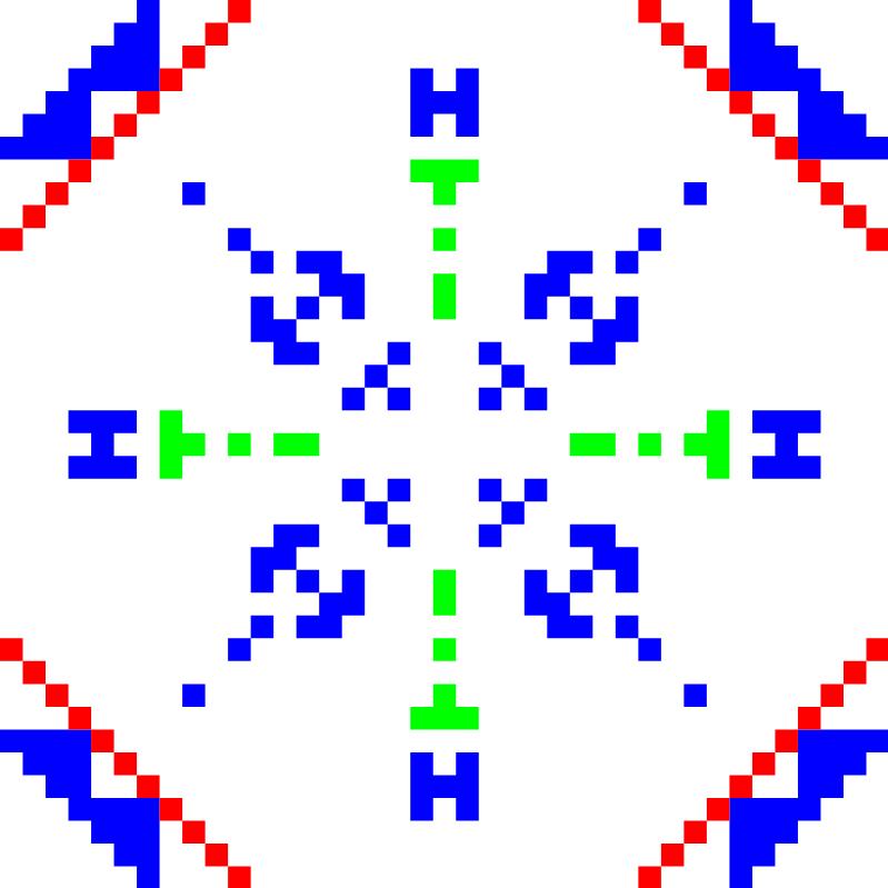 Текстовий слов'янський орнамент: Тінтін