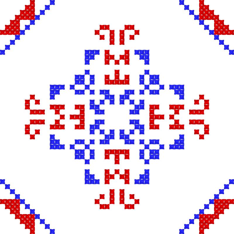Текстовий слов'янський орнамент: Неймар