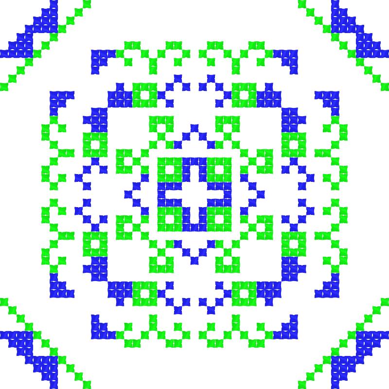 Текстовий слов'янський орнамент: Поль Погба