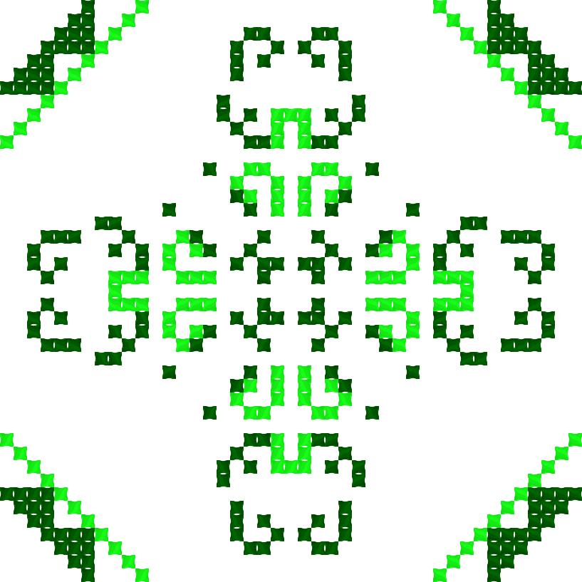Текстовий слов'янський орнамент: Кріпєр