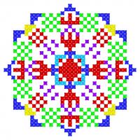 Текстовый украинский орнамент: Елизавета