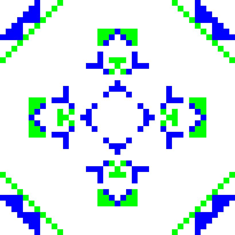 Текстовий слов'янський орнамент: Акула