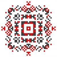 Текстовый украинский орнамент: Останній дзвінок