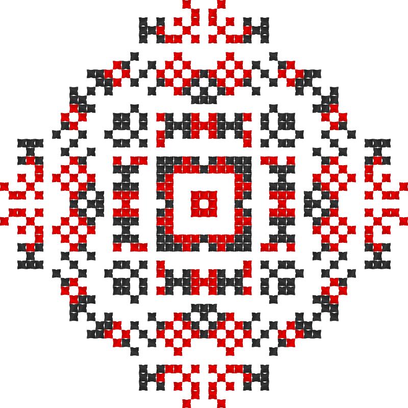 Текстовий слов'янський орнамент: Останній дзвоник