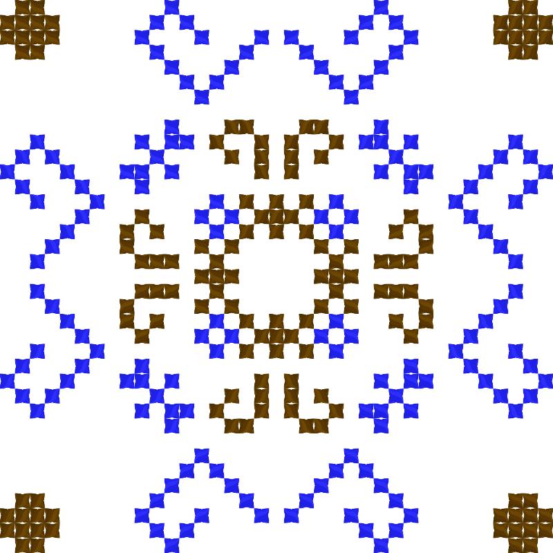 Текстовий слов'янський орнамент: Жорж