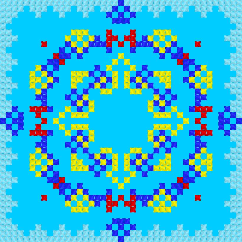 Текстовий слов'янський орнамент: Реал Мадрід