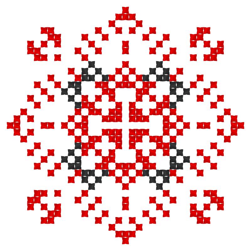 Текстовий слов'янський орнамент: Андріївна