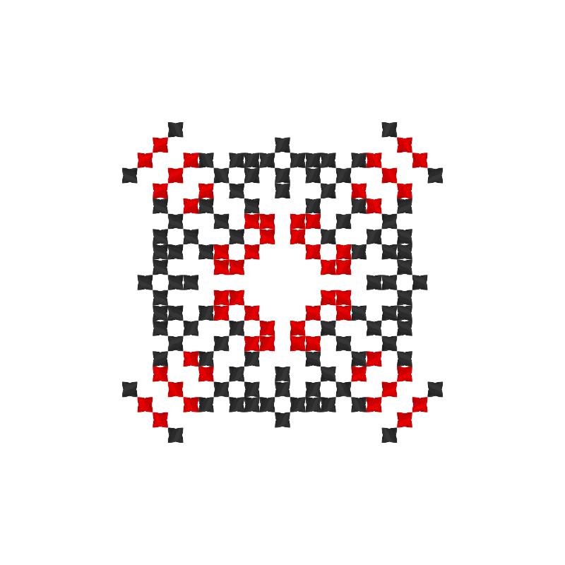 Текстовий слов'янський орнамент: Світів