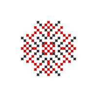 Текстовый украинский орнамент: Світлі