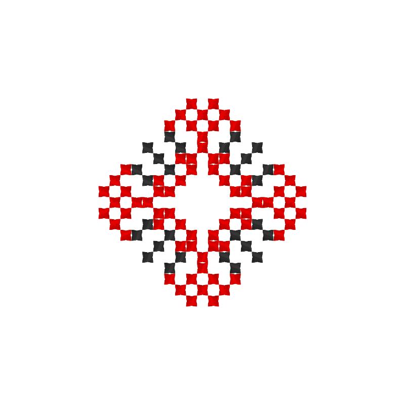 Текстовий слов'янський орнамент: Світ