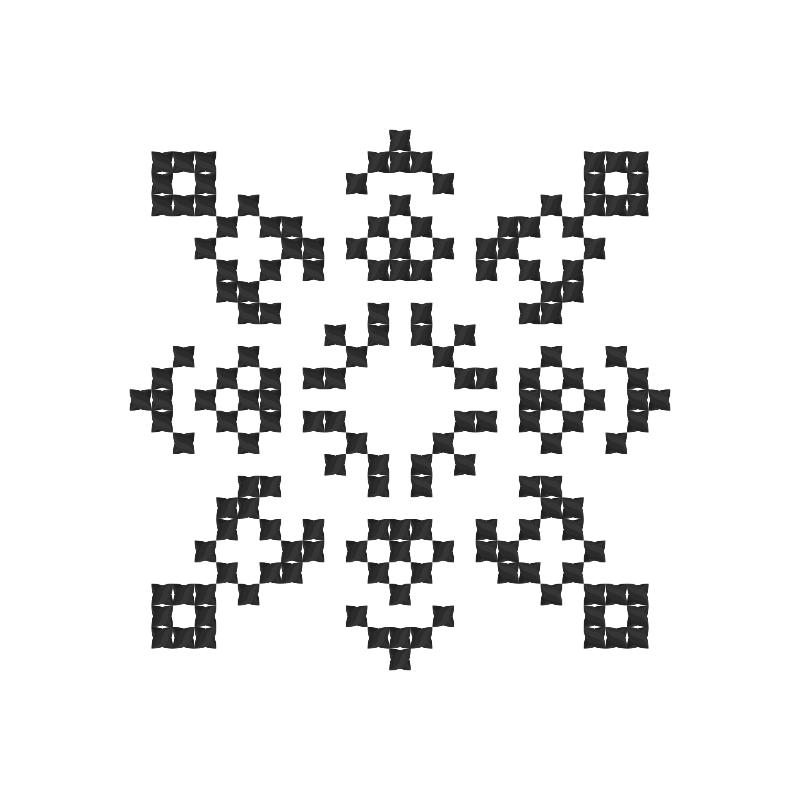 Текстовий слов'янський орнамент: Єднаю