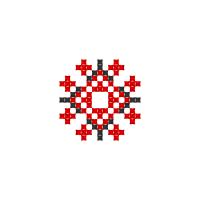 Текстовый украинский орнамент: Дух