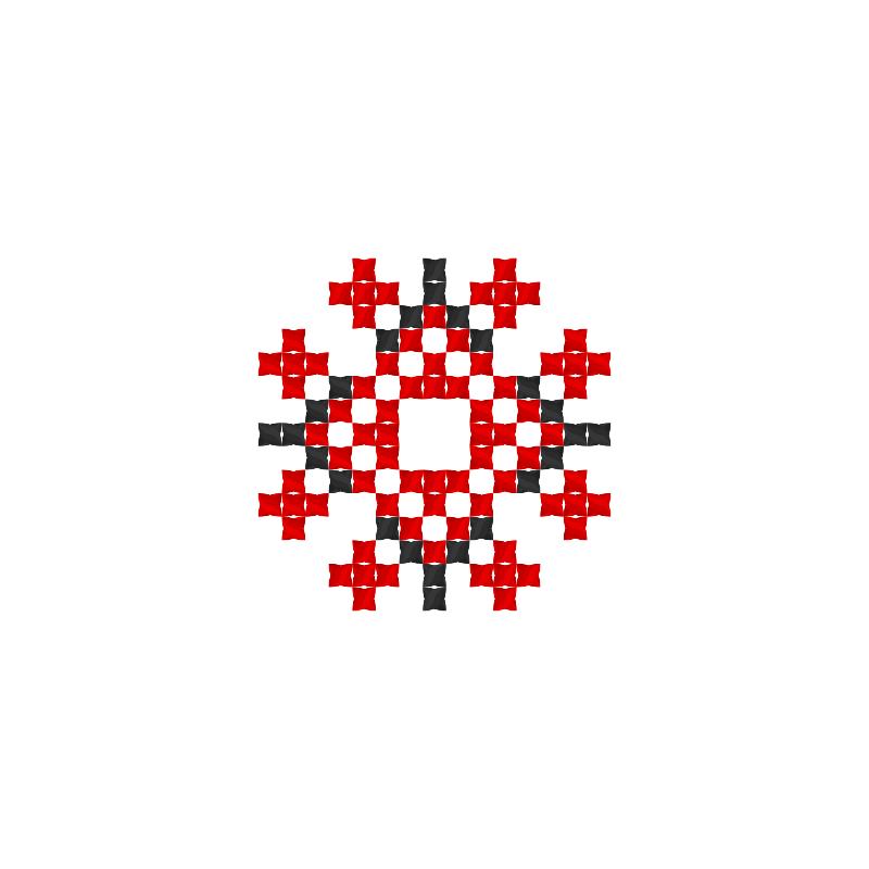 Текстовий слов'янський орнамент: Дух