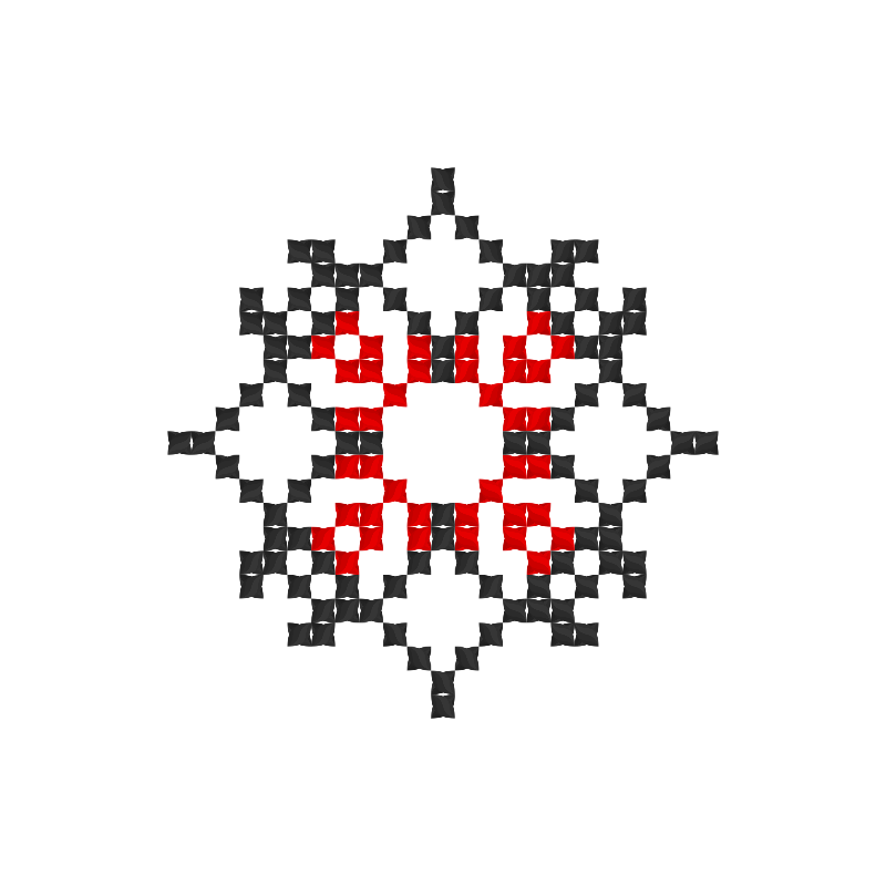 Текстовий слов'янський орнамент: Душу