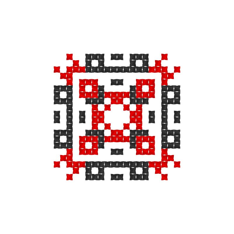 Текстовий слов'янський орнамент: Словом