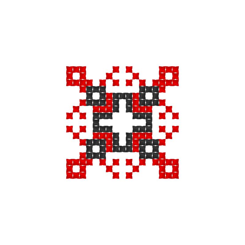 Текстовий слов'янський орнамент: Плоть