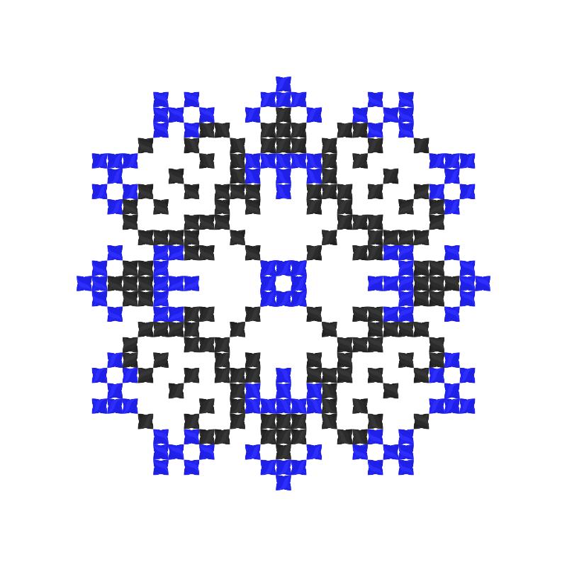 Текстовий слов'янський орнамент: Оберігаю