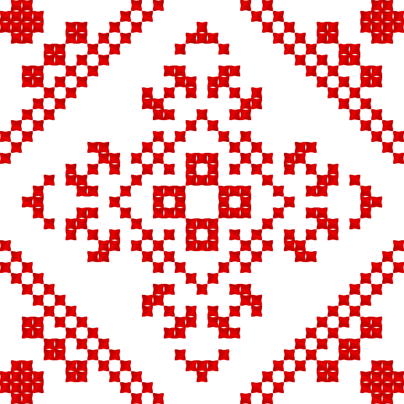 Текстовий слов'янський орнамент: Олена