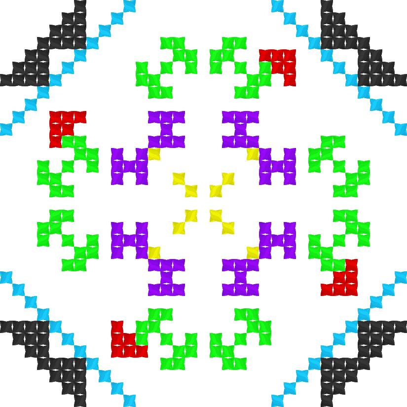 Текстовий слов'янський орнамент: Inna