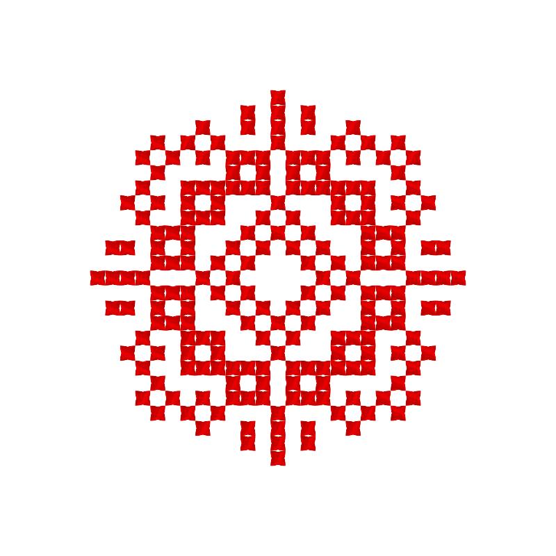 Текстовий слов'янський орнамент: Слово