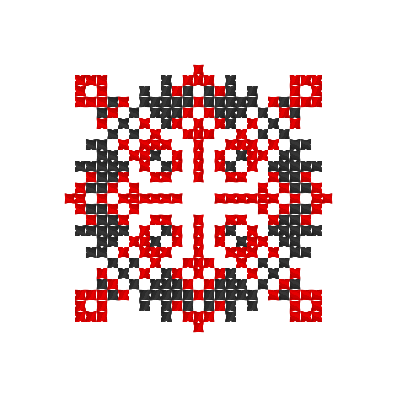 Текстовий слов'янський орнамент: Відмикаю